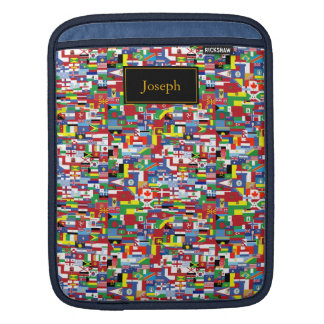 Flags of All Nations iPad Sleeve