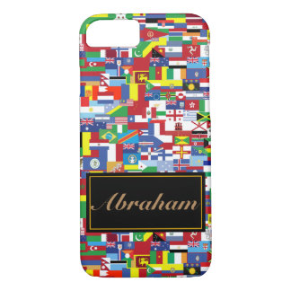 Flags of All Nations iPhone 7 Case