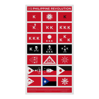 Flags of the Philippine Revolution - Medium Poster
