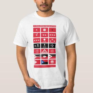 Flags of the Philippine Revolution Tshirt