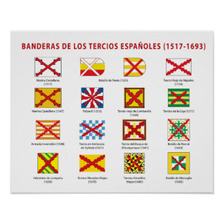 Flags of the Spanish Thirds