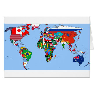 Flags of the World 2014 Card