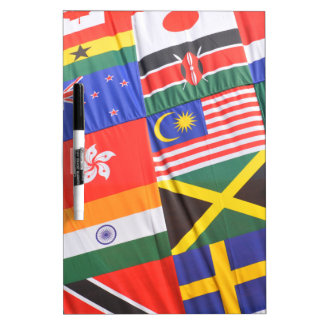 Flags of the world Dry-Erase whiteboard