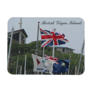 Flags @ Virgin Gorda Magnet