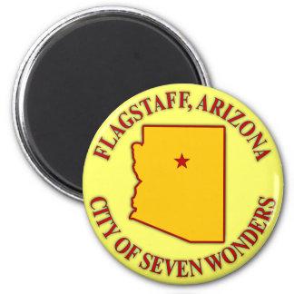 Flagstaff, Arizona 2 Inch Round Magnet