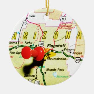 Flagstaff, Arizona Ceramic Ornament