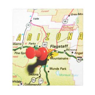 Flagstaff, Arizona Notepad