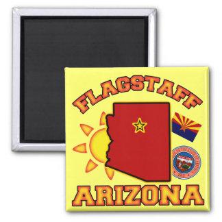 Flagstaff, Arizona Square Magnet