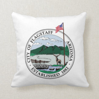Flagstaff, Arizona Throw Pillow