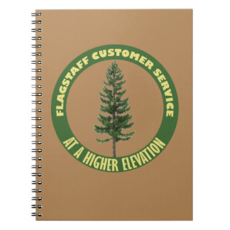 Flagstaff Customer Service Note Book