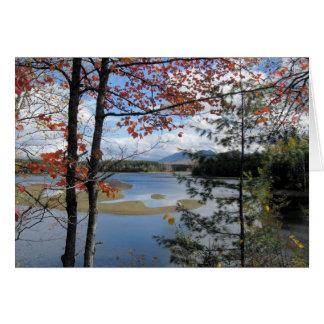 Flagstaff Lake Maine, USA. Card
