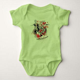 Flagwoman Souvenir-Baby Baby Bodysuit