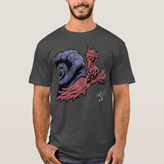 Flails the Space Snail tee