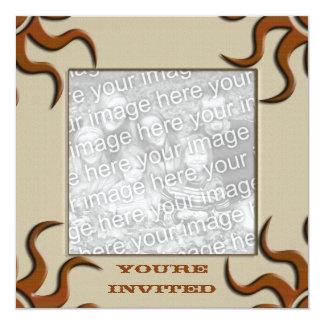 "Flair 5.25"" Square Invitation Card"