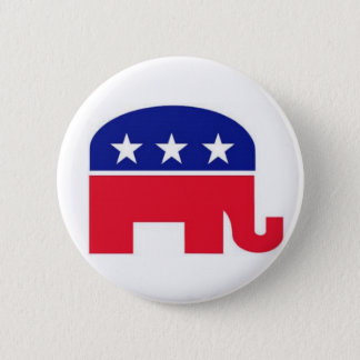 Flair Pin : Republican Elephant