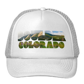 Flairons, Boulder Colorado Trucker Hat