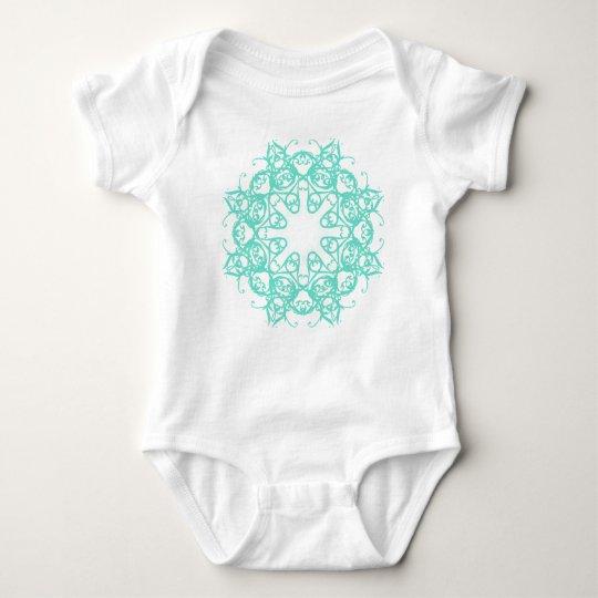 flake baby bodysuit