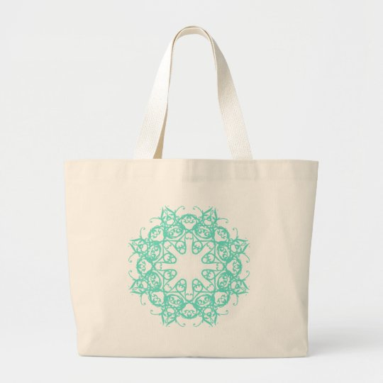 flake large tote bag