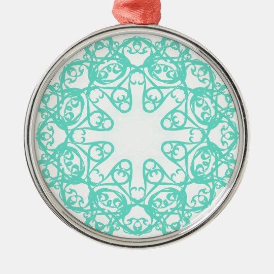 flake metal ornament