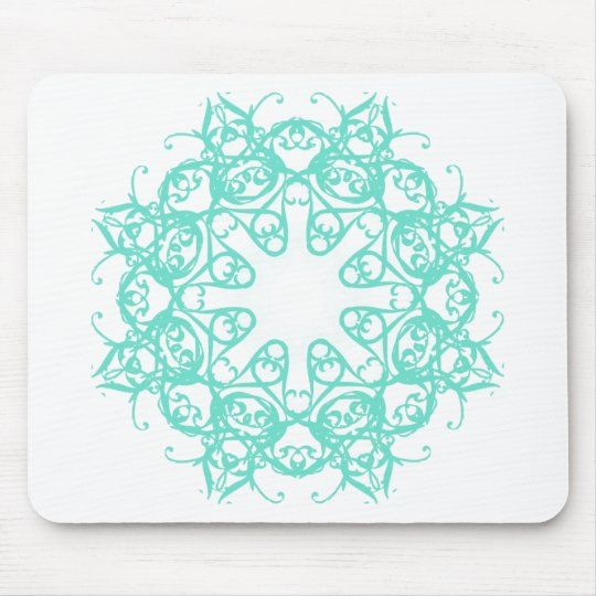 flake mouse pad