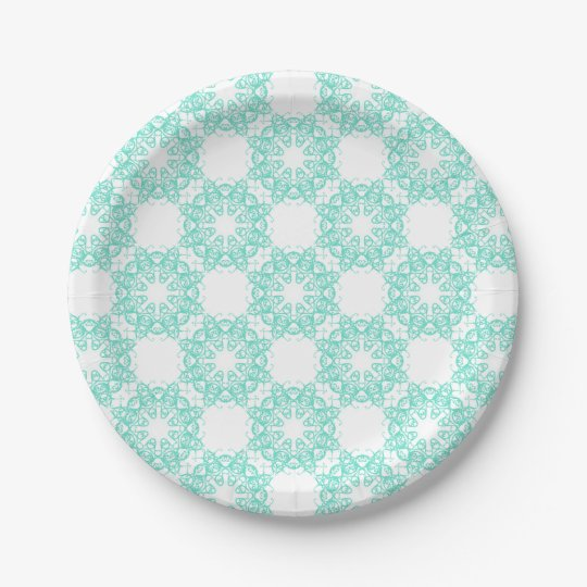 flake paper plate