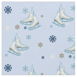 flakes and skates fabric