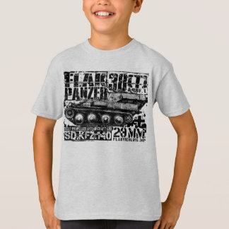 Flakpanzer 38(t) Kids' Basic Hanes Tagless Comfor Shirts