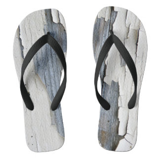 Flaky Paint Flip Flops