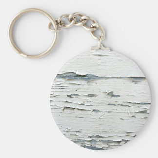 Flaky Paint Key Ring
