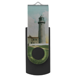 Flamborough Lighthouse (1900) USB Flash Drive