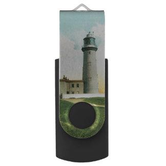 Flamborough Lighthouse (1900) USB Flash Drive