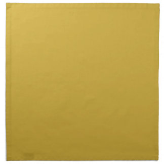 Flamboyantly Fortunate Gold Color Napkin