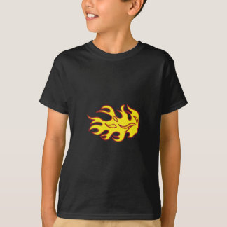 Flame Applique T-Shirt