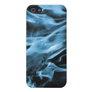 Flame Blue iPhone 5/5S Case