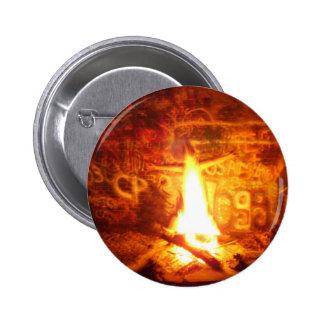 Flame Boy Button