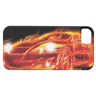 Flame Car iPhone 5 Case