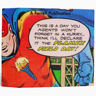 Flame comics binder