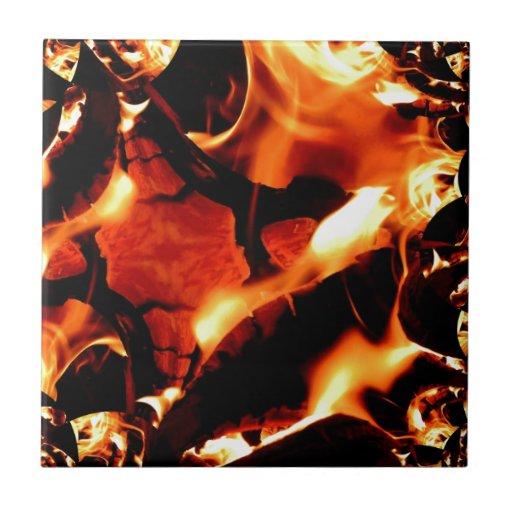 Flame dance tiles