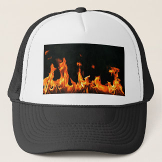 Flame Design Trucker Hat