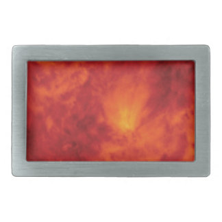 flame fire abyss rectangular belt buckle