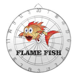flame fish dartboard