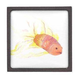Flame Fish Premium Trinket Box