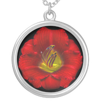 Flame Flower Necklace
