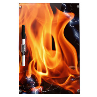 Flame-focus Dry Erase Whiteboards