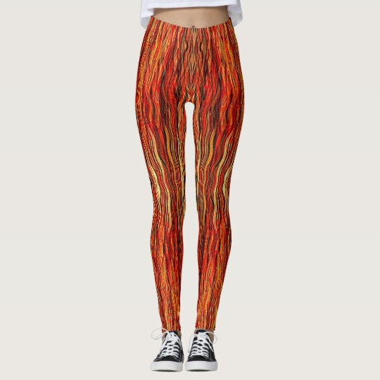 Flame Job Leggings