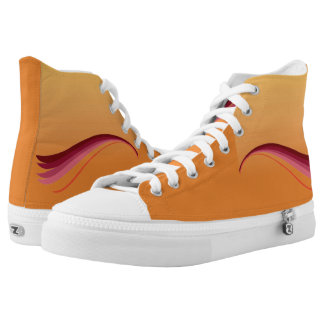 Flame Lily High Tops