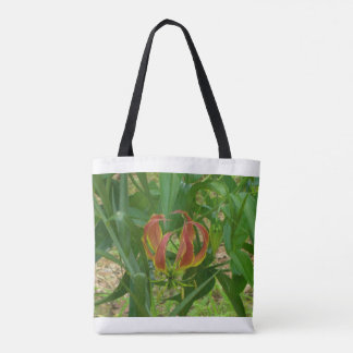 Flame Lily Tote Bag