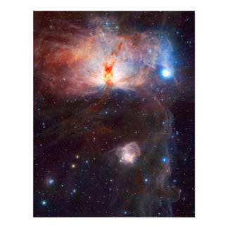 Flame Nebula Space Astronomy Photograph
