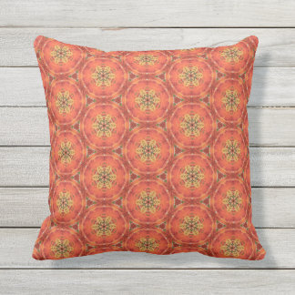 Flame of the Forest 2 Throw Pillow