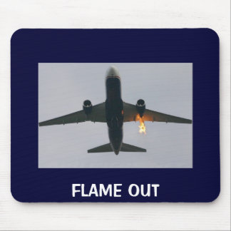 FLAME OUT MOUSE PAD